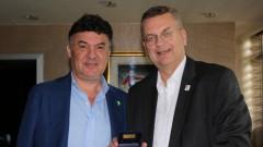 Борислав Михайлов прие президента на ГФС, обсъдиха възможност за сътрудничество