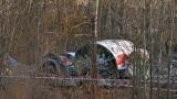 На самолета на Качински е имало взрив