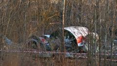 Есхумираха тялото на Лех Качински