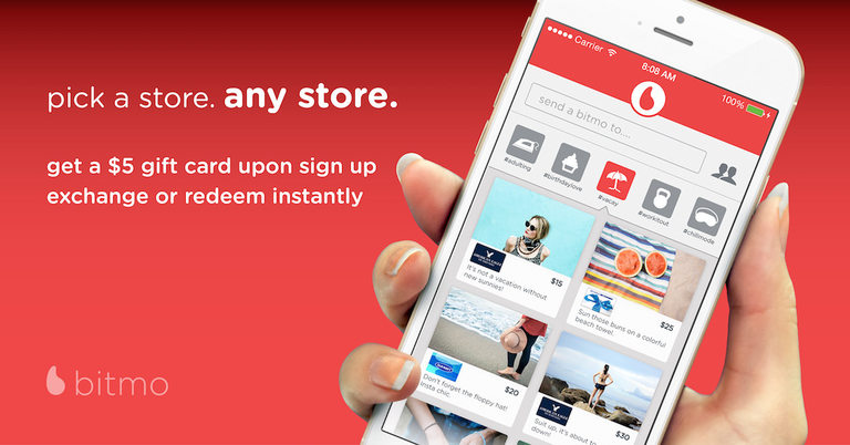 1- Bitmo - приложение за пазаруване с подаръци и отстъпки