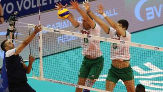 България победи Египет с 3-1 (25-11, 33-31, 19-25, 25-19), в оказал се труден мач във Варна