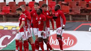 ЦСКА се възползва от грешката на Левски и надви минимално Ботев (Пд) с гол на Белтраме