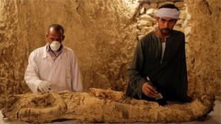 В Луксор намериха мумия и артефакти на 3500 години
