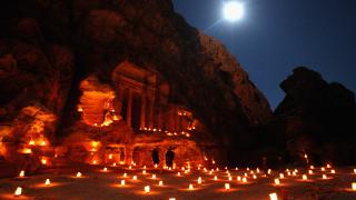 Откриха огромен паметник в древния град Петра в Йордания