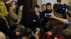 """Надежда Савченко изгонена от партия """"Баткивщина"""""""