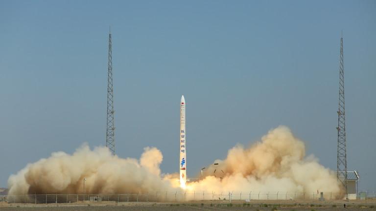 Китайска ракета Hyperbola-1 се взриви минути след изстрелването