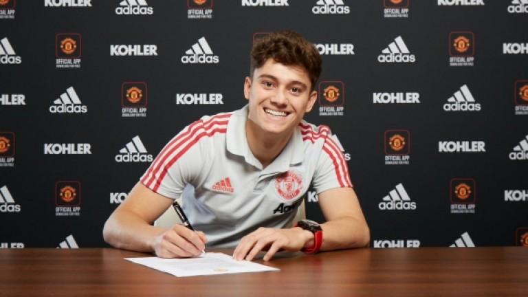Официално: Юнайтед представи Джеймс
