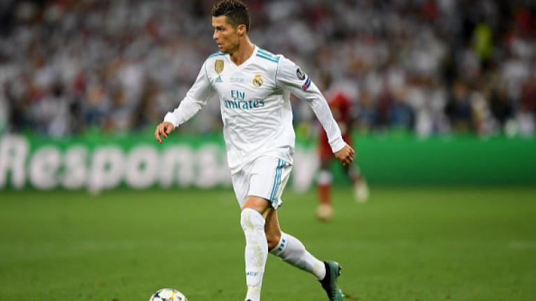Минути след триумфа на Реал (Мадрид) в Шампионската лига, Кристиано