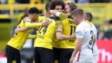 Борусия (Дортмунд) победи Аугсбург с 2:1 в мач от Бундеслигата