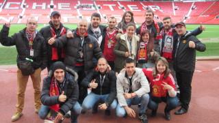 """Фен клубът на """"Манчестър Юнайтед"""" помогна на деца, лишени от родителски грижи, да гледат мача на Бербатов"""