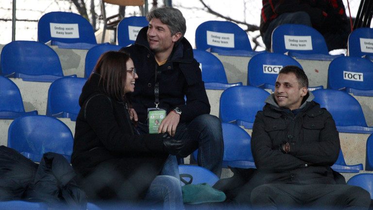 Спортният директор на Левски вече е при отбора в Австрия