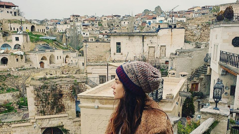 Снимка: Къде си почива Диляна Попова