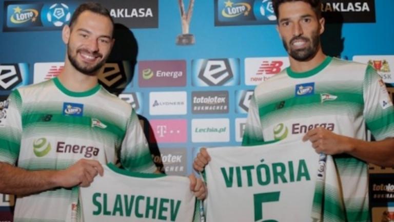 Славчев и Легия оглавиха класирането в Полша в дебюта на българина