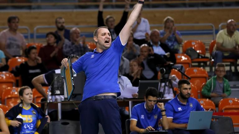 Иван Петков: Показахме доста силна игра през първите два гейма