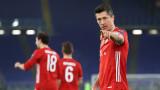 Байерн (Мюнхен) победи Лацио с 4:1 в първи осминафинален двубой от Шампионската лига