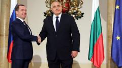 Преносът на газ ни се полага, отсече Борисов пред Медведев