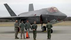 САЩ разположиха изтребители Ф-35 на 200 км от границата с Русия