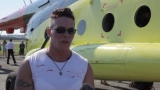 Виж жената, която премести хеликоптер! (ВИДЕО)
