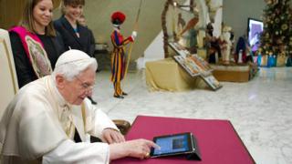 Папата се Twitt-на