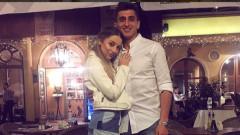 Александър Дюлгеров от ЦСКА и певицата Михаела Маринова вече не крият своята връзка