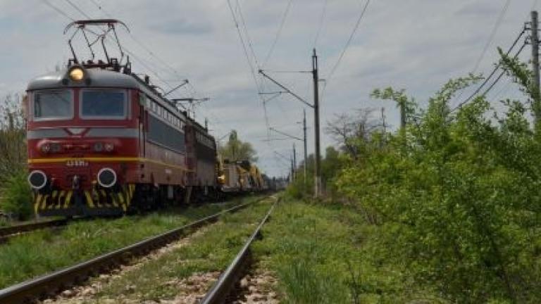 """Джи Пи Груп"" реконструирали жп трасето край Своге, където дерайлира влак"