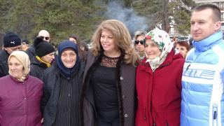 Йотова с изпълнена мечта за път и млади хора в Семково