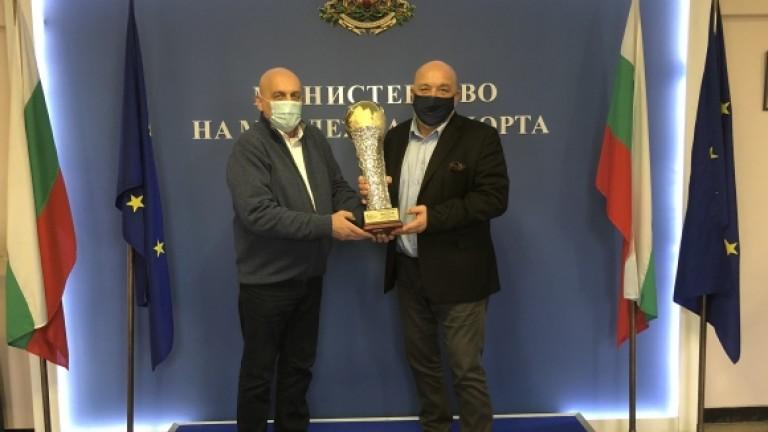 Министър Красен Кралев обсъди годината за автомобилния спорт