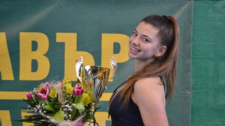 16-годишната квалификантка Дария Радулова спечели Държавното първенство по тенис в
