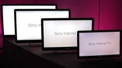 Sony реже цените на Google TV телевизорите си