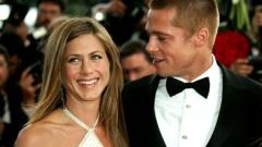 Анистън може и да е бременна, но пак е с бившия си!