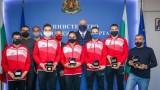 Министър Кралев награди медалистите от Европейското по спортна гимнастика