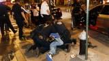 Четвърта нощ на тежки сблъсъци между полиция и протестиращи в Ню Йорк