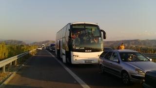 Две ленти има на пътя през Владая за излизане от София