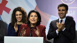 Грузия избра за първи път президент жена