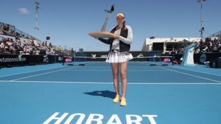 Играещата за Казахстан рускиня Елена Рибакина спечели турнира по тенис