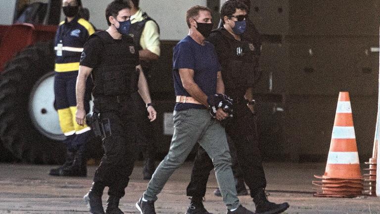 Задържаният италиански мафиот Роко Морабито беше преместен в затвора на