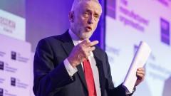 Великобритания трябва да търгува безмитно с ЕС след Брекзит, настоя Корбин