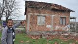 Ураган отнесе покривите на 30-тина къщи в Димитровград