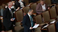 НС гласува днес за удължаване на извънредното положение