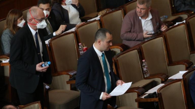 Народното събрание ще гласува днес предложението за правителството удължаване на