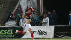 Белтраме с два жълти картона в три мача за ЦСКА през сезона