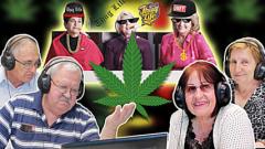 Виж, пенсионери пушат марихуана за сефте! (ВИДЕО)