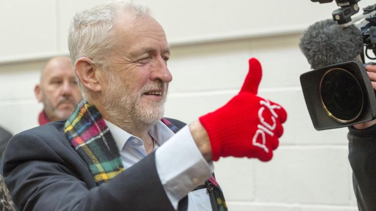 Лидерът на Лейбъристката партия на Великобритания Джереми Корбин заяви, че