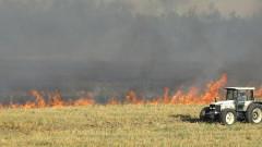 Пожарът над Югово се е разгорял отново