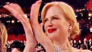 Никол Кидман обясни странните си аплодисменти на Оскарите