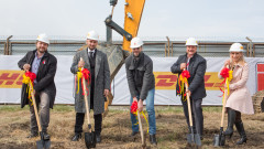 DHL изгражда нова база в София