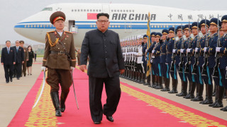 Ким Чен-ун е на посещение в Пекин