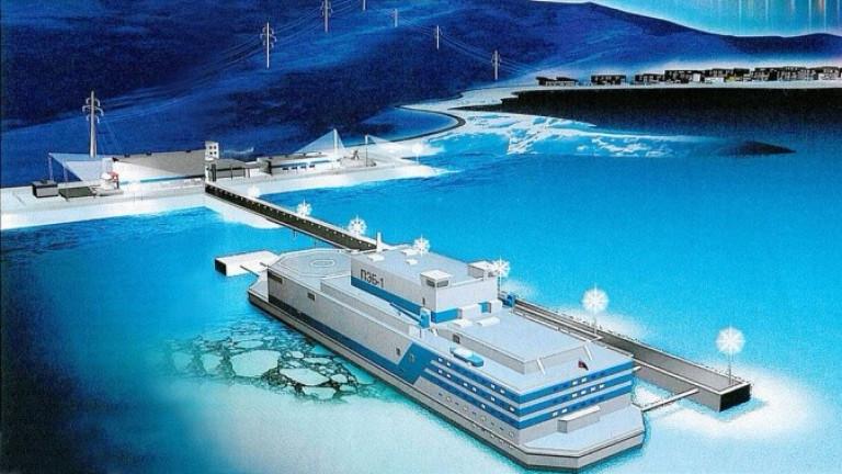 Русия ще построи първата в света плаваща атомна електроцентрала. Централата