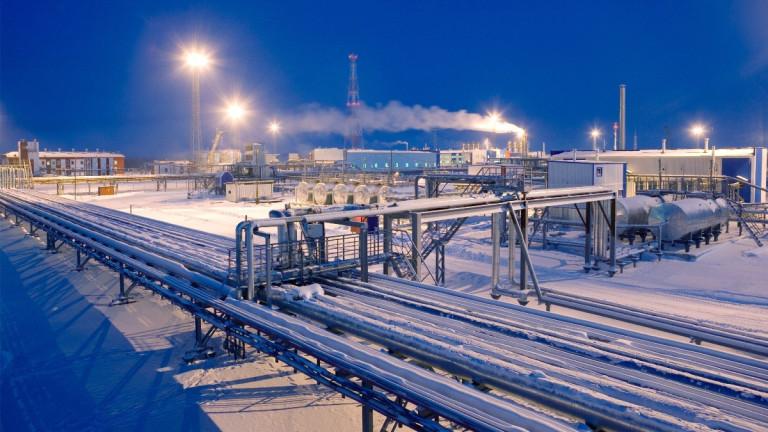 От Газпром постепенно спират доставката на газ през Украйна