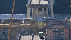 """Евакуация заради съмнителни звуци от останалата част на моста """"Моранди"""""""